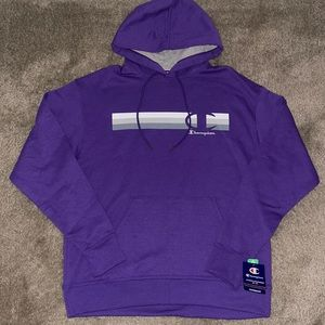 Champion powerblend hooded sweater